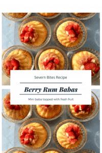 Try my mini rum baba recipe