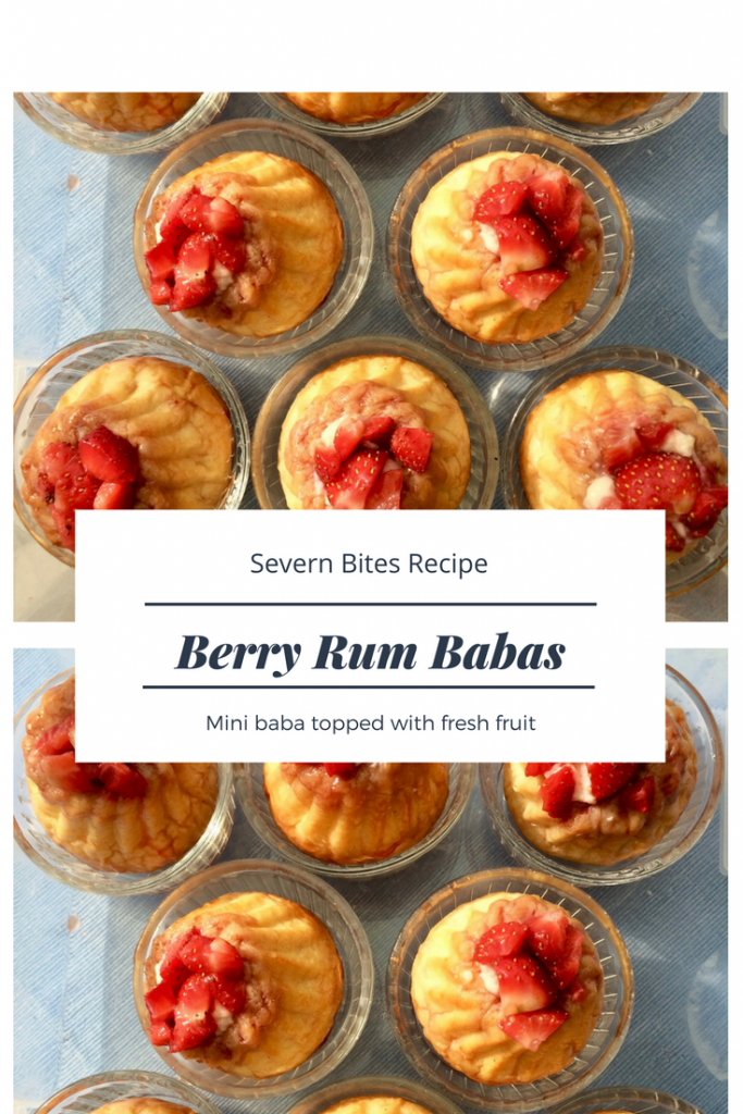 Try my mini rum baba recipe