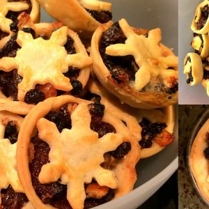 Home made mince pies from Severn Bites