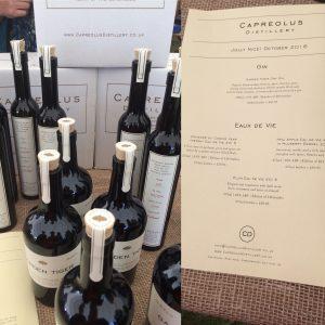 Capreolus Distillery: Eau de Vie and Gin