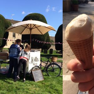 Jolly nice ice cream - at an event near you or in the shop