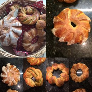 Make Bread Wreaths this Christmas!