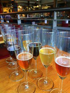 Beer Flight at Zero Degrees