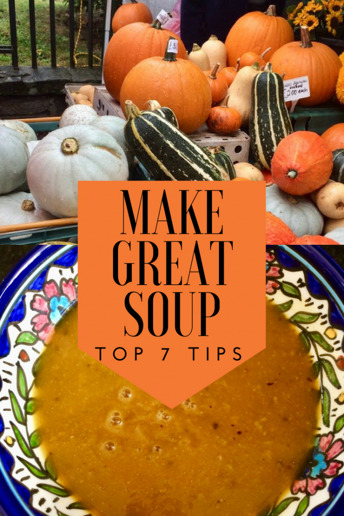 It's easy to make soup, just follow my 7 easy tips. Bake your vegetables, mix up and you're done