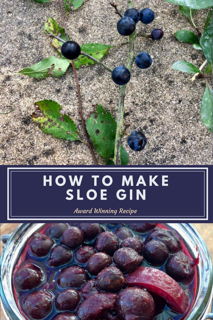 How To Make Sloe Gin >> Severn Bites Sloe Gin