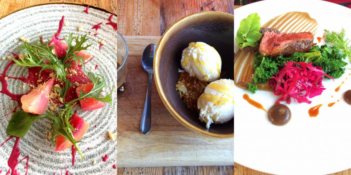 Stand out dishes at the Ethicurean