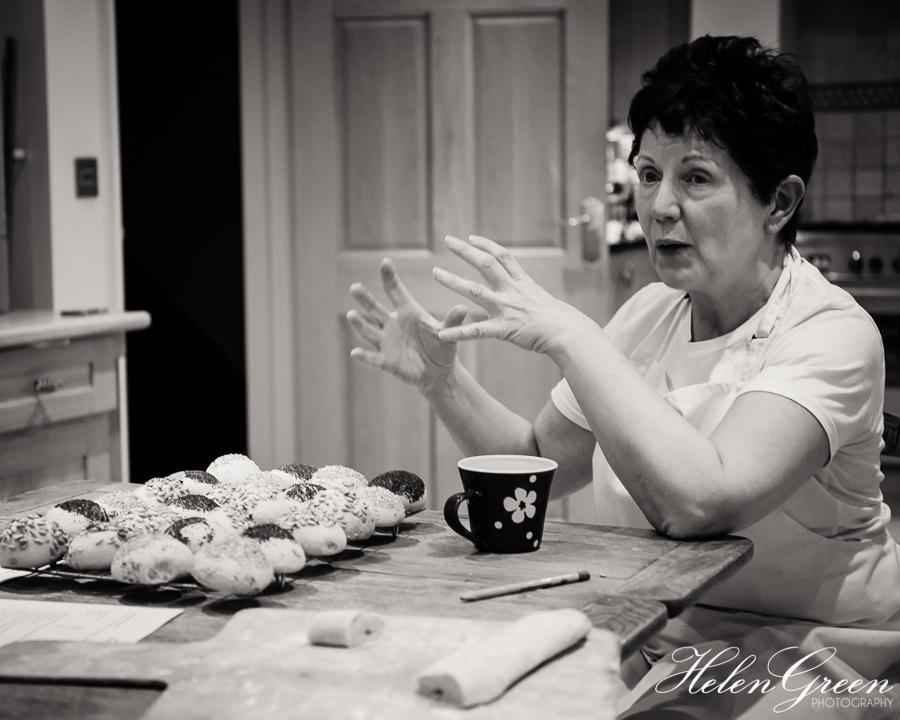 Teaching breadmaking