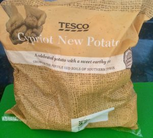 Tesco Cypriot New Potatoes