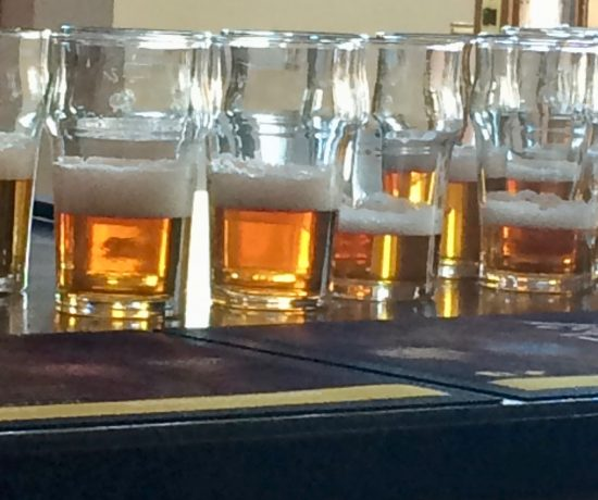 Countryman beer ready for tasting