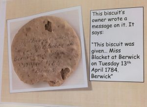 A ship's biscuit