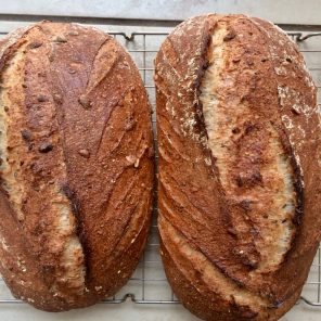 Beautiful cider loaves