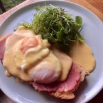 Eggs Benedict at the Priory Inn, Tetbury