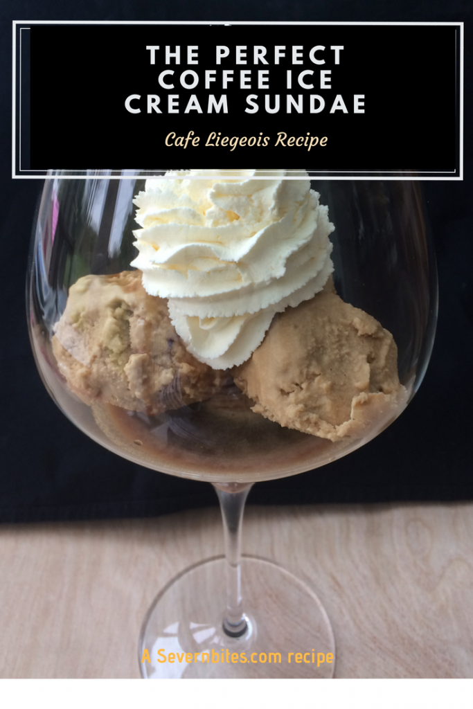 Make the perfect coffee ice cream and sundae