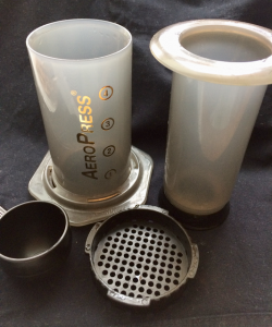 The AeroPress is such a simple system