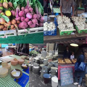 There's always an amazing range of produce at Stroud Farmer's Market