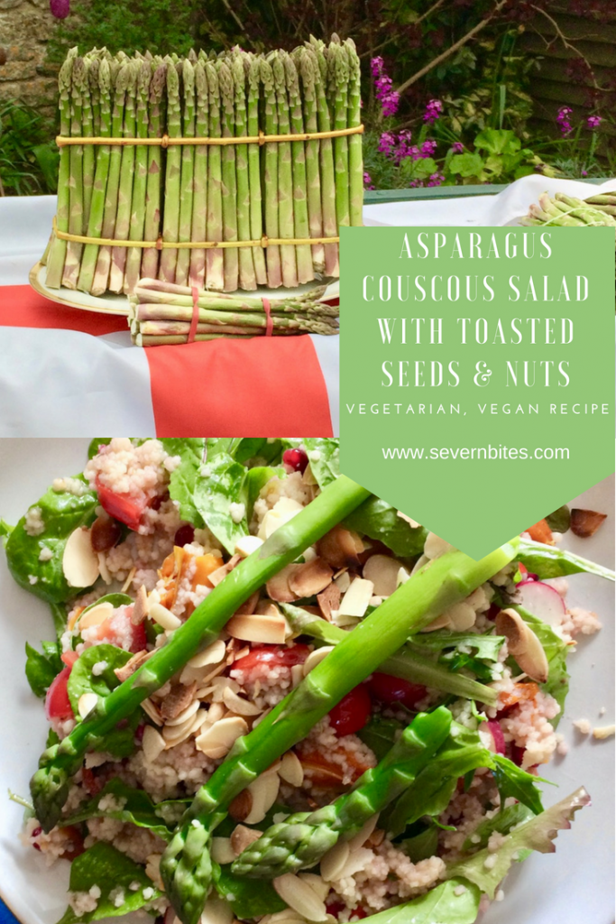 A great asparagus salad for vegans and vegetarians