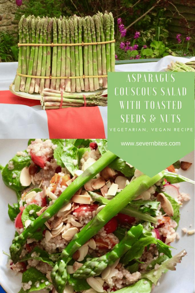 A great asparagus salad for vegans and vegetarians