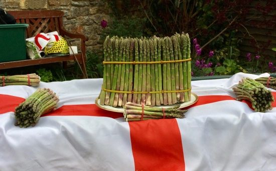 120 asparagus spears known as a hundred