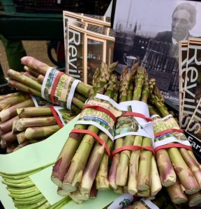Asparagus at the start of the season