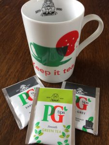 Keeping it simple with PG Tips