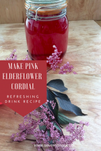 Pink or white, elderflower cordial is such a delight