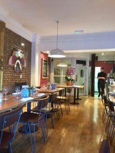 The Square Kitchen Interior