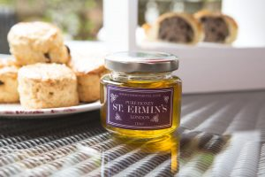 St Ermin's gets approximately 24 pots of honey from each hive each year