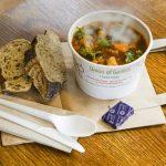 Union of Genius takeaway soup - photo by Brendan MacNeill