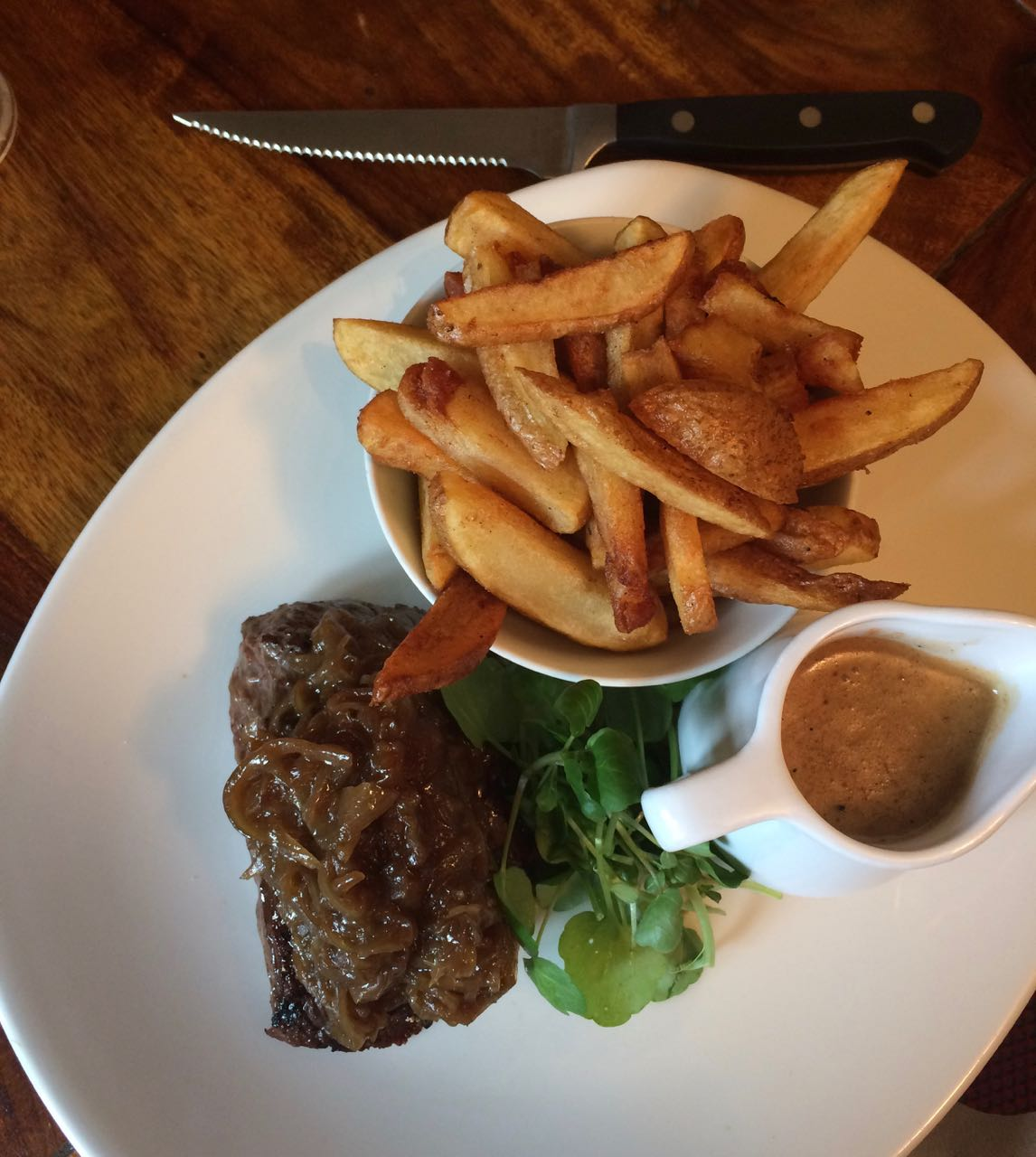 Bavette steak with a great sauce