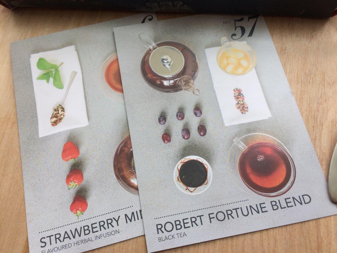 Tastingcards