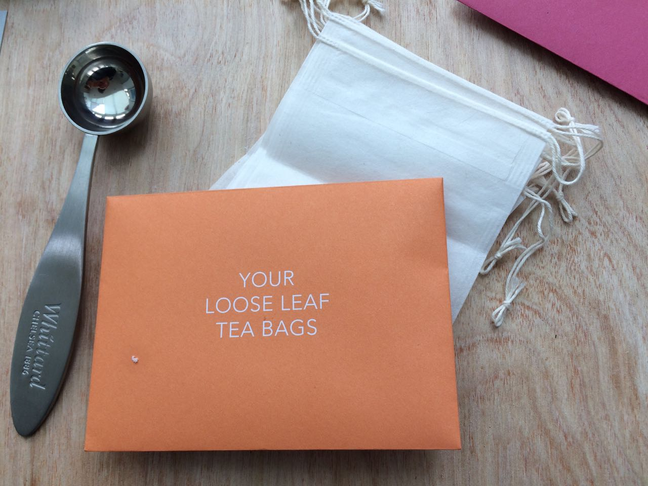 Do it yourself tea bags
