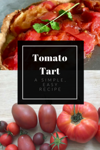 A crips pastry case filled with delicious heirloom tomatoes. This recipe is easy and delicious