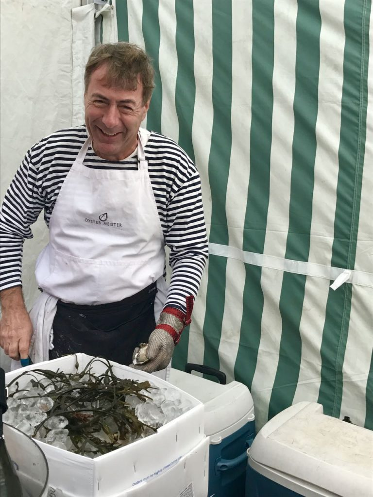 Oysters anyone? Abergavenny Food Festival
