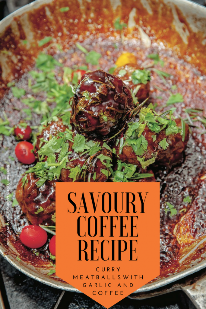 Curry Meatballs from the Marley Coffee Cookbook