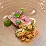 Prithvi Restaurant Cheltenham Welsh lamb with honey mustard