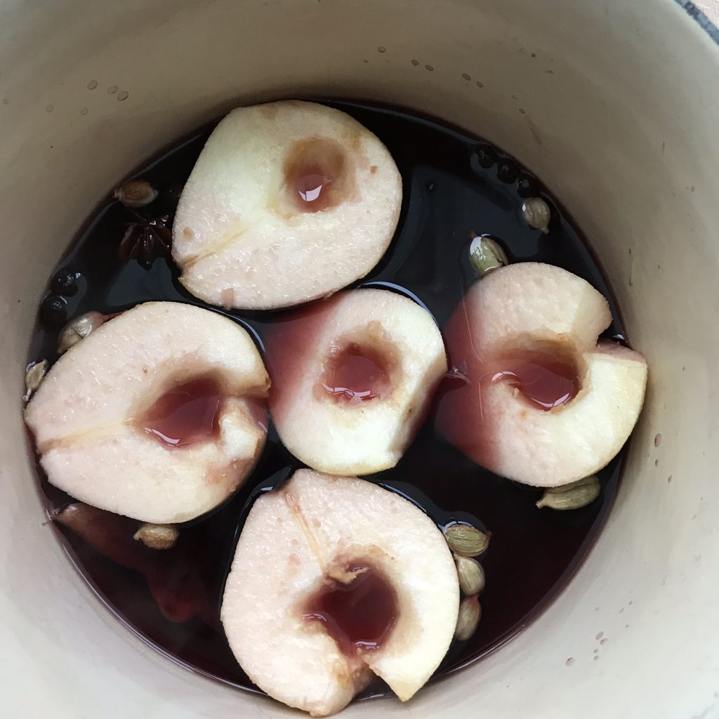CookingMulledWinePears