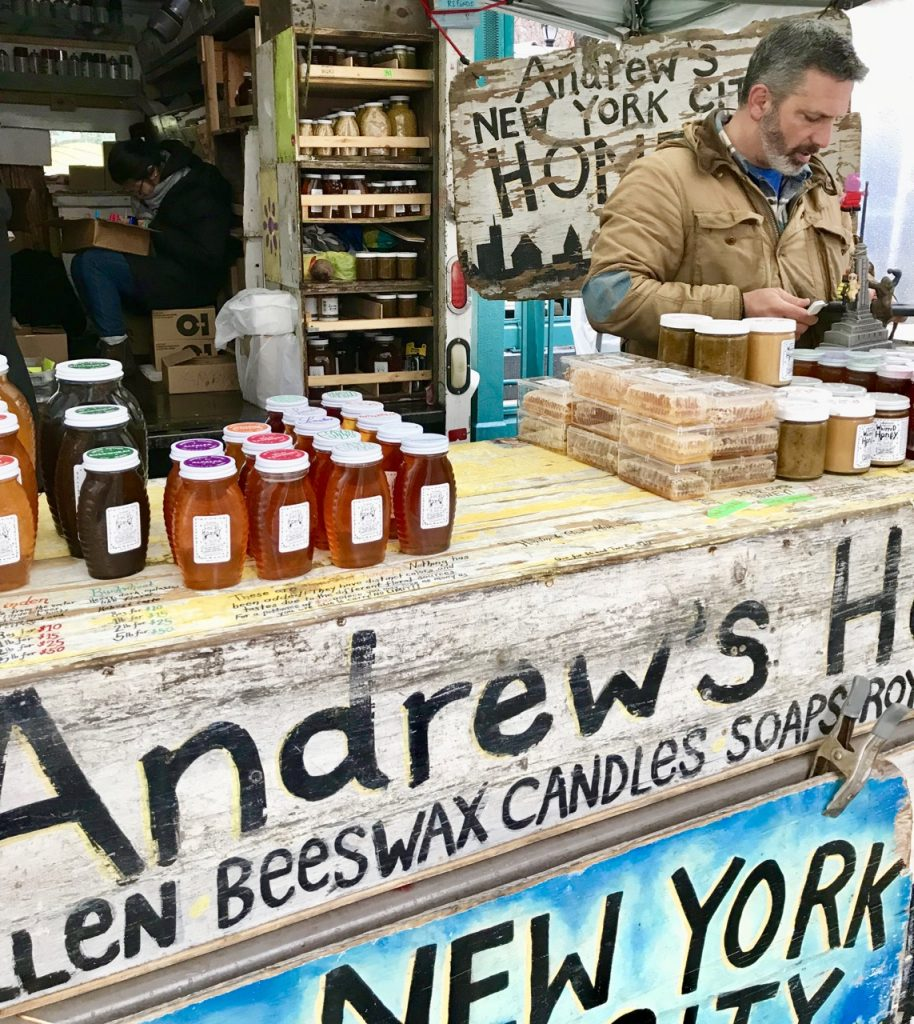 Andrew, Beekeeper to New York