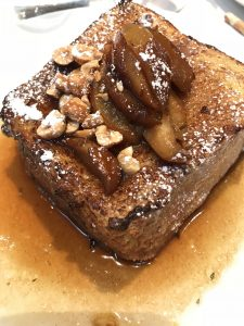 Brown Butter Pear French Toast - Union Square Cafe