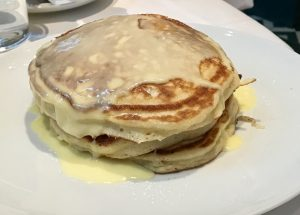 Buttermilk Pancakes with Lime Curd