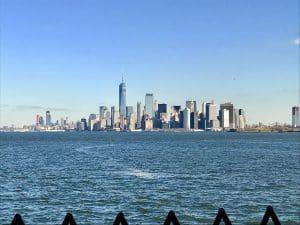 Manhattan from the Staten Island Ferry