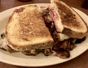 Reuben sandwich at Eisenberg's