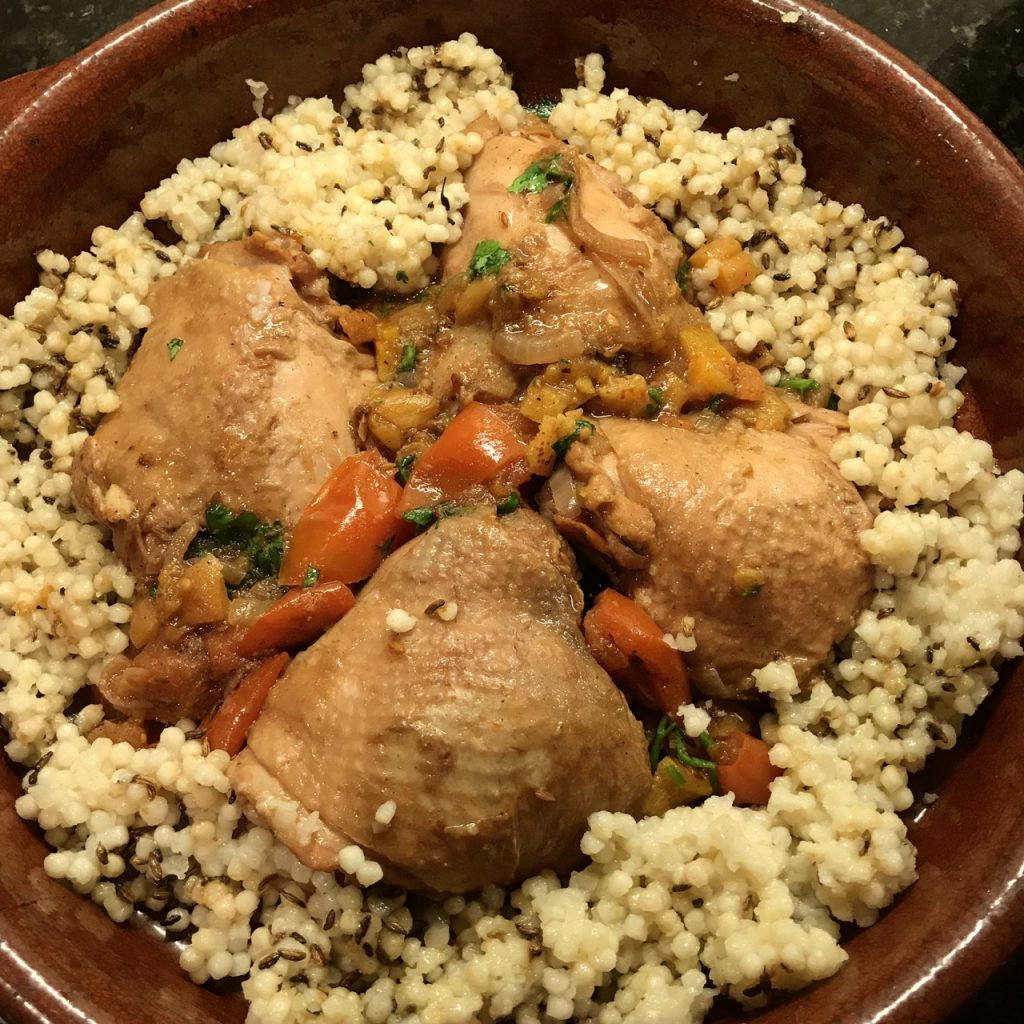 Chicken and Apricot Tagine. Tagine dish not necessary