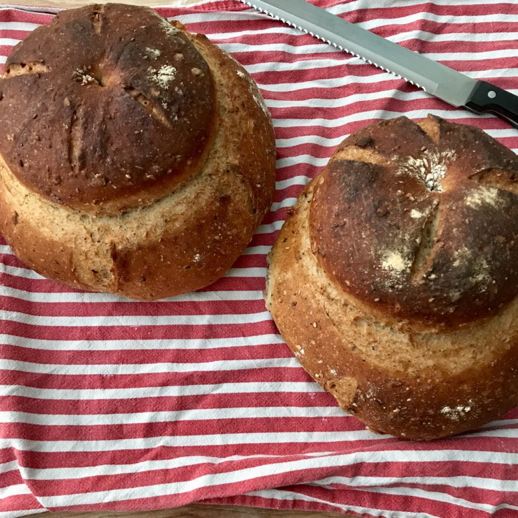 Using the correct water temperature will make better bread