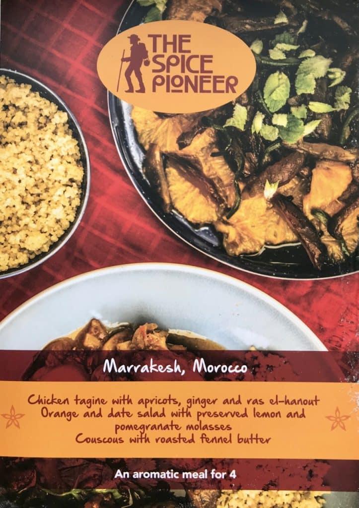 Spice Pioneer Recipe Booklet