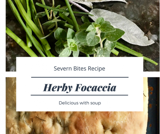 Follow my easy to make herby focaccia recipe