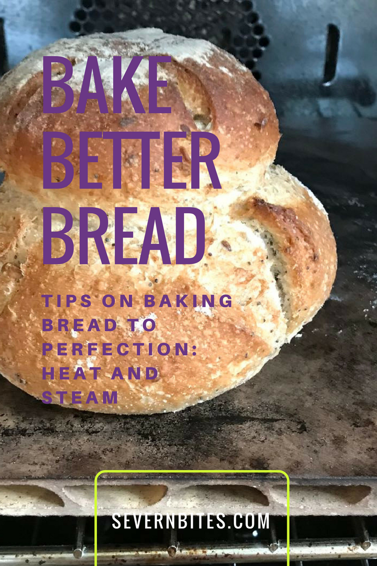 Why heat and steam are important in baking great bread