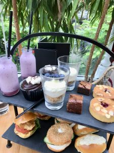 The tea tray