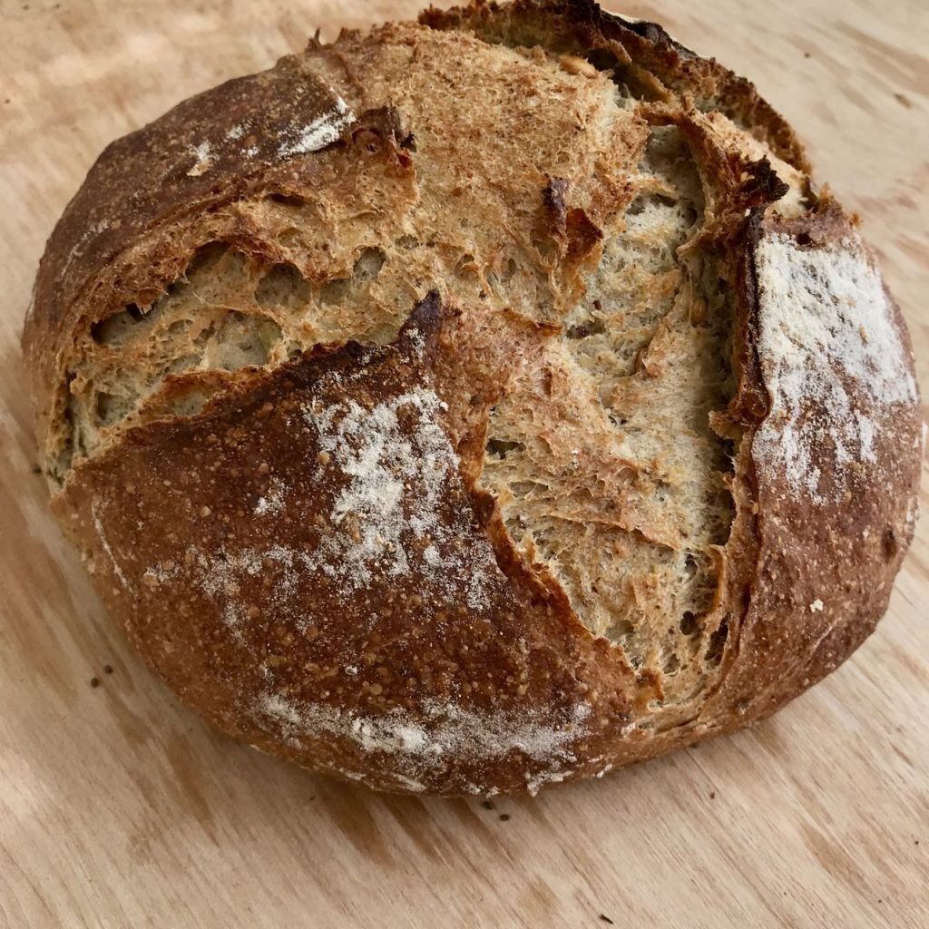 Use baker's perecentages for a beautiful loaf of bread