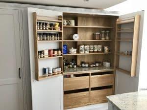 Including plenty of storage in an innovative way