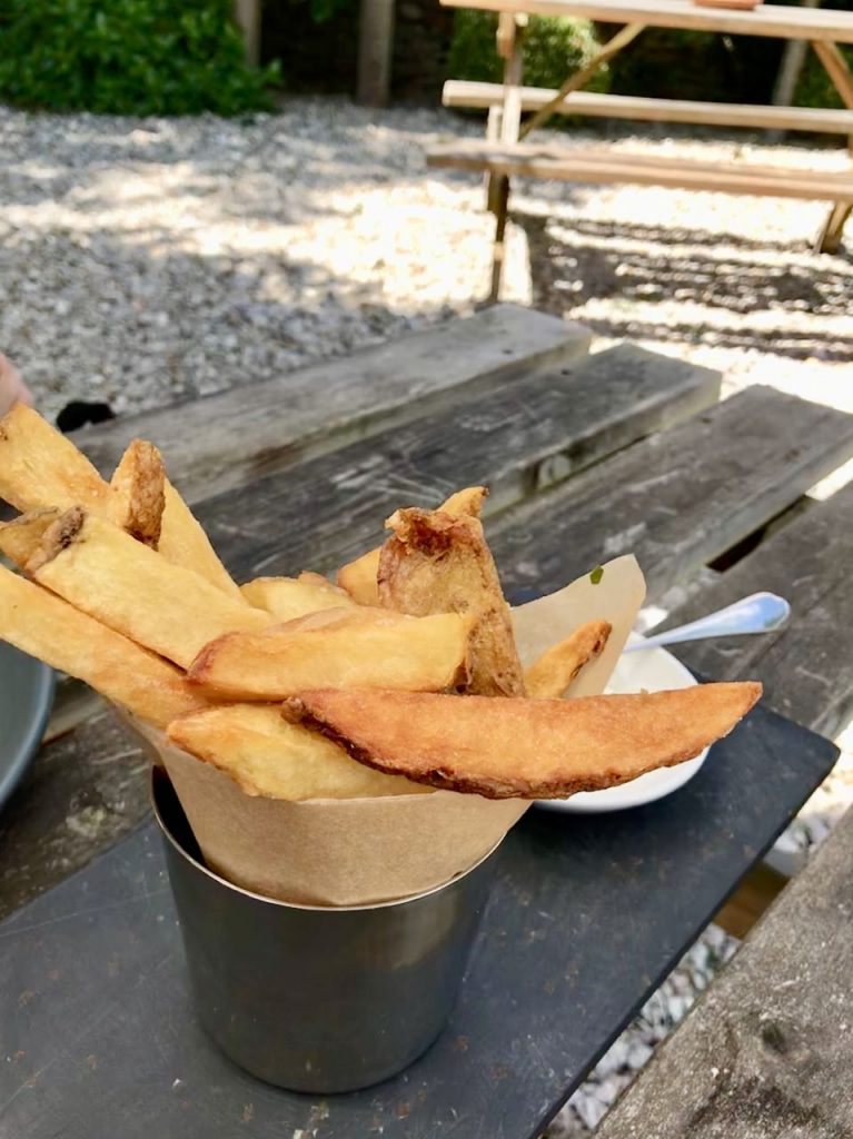 Handcut chips of course!